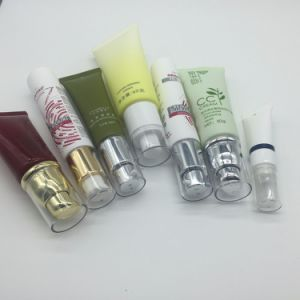 Dia19mm Small Size Plastic Cosmetic Tube with Airless Pump pictures & photos