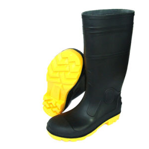 Heavy Duty Safety Working Boots (PVC-005)