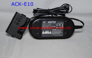 Camera AC Adapter ACK-E10, ACKE10, DR-E10 With Coupler for Canon EOS 1100D, Rebel T3
