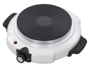 White Painting Hot Plate Electric Stove with 1500W 188mm Diameter Heating Plate