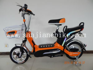 City Style E-Bike /48V Comfortable Electric Bicycle, En15194 Certification (SJEBCTB-044)