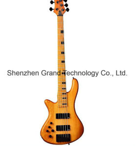 5 String Satin Natural Left Handed Electric Guitar Bass (SCH-02) pictures & photos