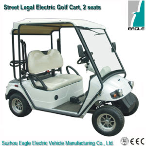 EEC Street Legal Golf Cart, Electric with 2 Seats pictures & photos