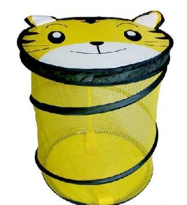 Fashionable Mesh Laundry Bag with Cartoon Mesh Hamper pictures & photos