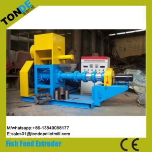 Floating Fish Pet Dog Food Pellet Processing Line Extruder pictures & photos
