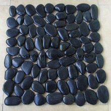 High Quality Black Stone Tile Cobblestone Tiles pictures & photos