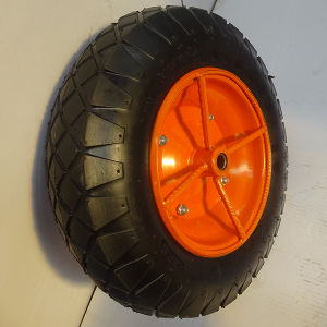 Wheel Barrow Wheel 3.50-8 with Ultra-Rugged Rim