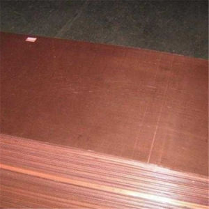 Copper Sheet ASTM B152 C10100 (Oxygen Free) High Purity pictures & photos