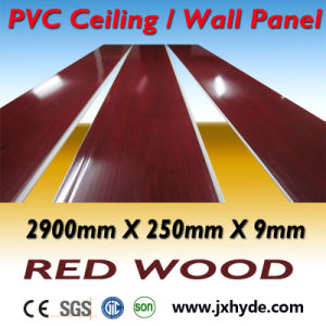 Gloss White Middle Groove PVC Panel Ceiling Decoration Waterproof Material pictures & photos