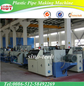 Plastic Pipe Making Machine/Extrusion Machine pictures & photos