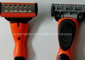 Razor Blade - 5 Blade Shaving Surface + 1 Precision Trimmer (Incbest A381 5+1)