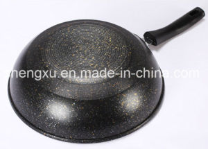 Pure Iron Non-Stick No-Oil Smoke Pure Iron Wok SX-A9-10 pictures & photos
