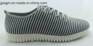 Casual Fashion Flyknit Lace-up Shoes for Men pictures & photos