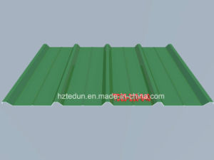 Coated Color Steel Sheet for Facades and Wall Claddings (iron grey7011) pictures & photos