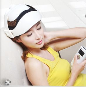 Portable LCD Music Air Compression Eye Head Massager