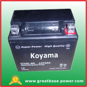 Sealed Maintenance Free Motorcycle Battery Ytx5l-Bs 12V 4ah pictures & photos