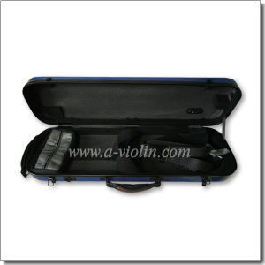 Oblong Shape Composite Material Shell Violin Case (CSV-F081C) pictures & photos