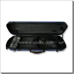 Oblong Shape Composite Material Shell Violin Case (CSV-F081C) pictures & photos