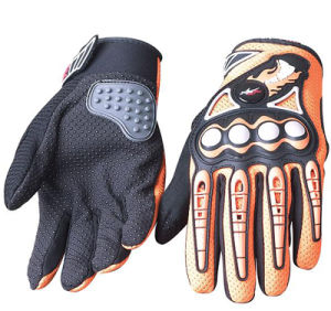 Fashion Motorcycle Glove Bike Bicycle Full Finger Cycling Gloves Breathable Mesh Fabric Outdoor Sports Protective pictures & photos