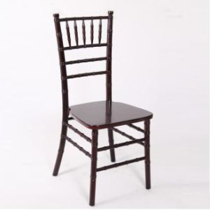 Silver Solid Wood Banquet Chiavari Ballroom Chair pictures & photos