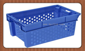 Superior Quality PE Plastic Nestable Storage Baskets for Seafood pictures & photos