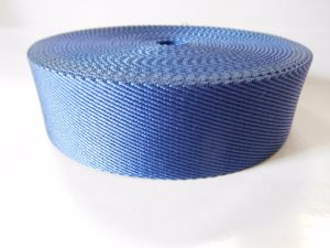 40mm Blue Twill Nylon Webbing pictures & photos