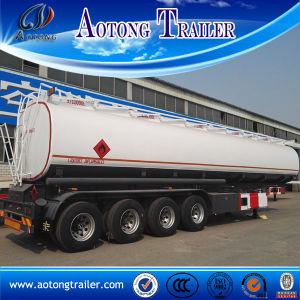 6 Compartment 54000 Liters Fuel Tank Semi Trailer for Sale pictures & photos