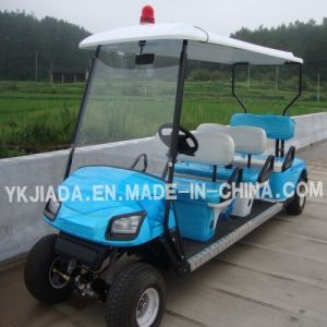 6 Seat Electric Power Sightseeing Car with Light (JD-GE503A) pictures & photos