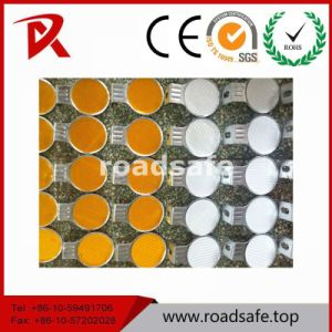 160*10mm Guardrail Reflective Highway Round Guardrail Reflector Delineator pictures & photos