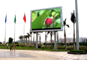 Outdoor High Refresh Full Color Far Distance Advertising LED Display pictures & photos
