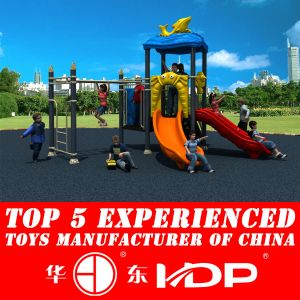 2014 Hot Cheap Plastic Playground Slides for Children (HD14-080C) pictures & photos