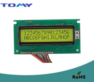 16X2 Stn Character LCD Module with Y/G Backlight pictures & photos