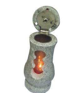 Whole Sale Price Granite Lamps for Tombstone pictures & photos