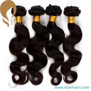 Body Wave Indian Remy Virgin Human Hair Weft He86