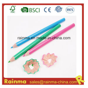 Jumbo Plastic Color Pencil with Triangle Shape pictures & photos