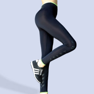 Fashion Clothing Weft Knitting Pants & Trousers Woman′s Compression Tights pictures & photos