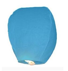 Cheap Eco Wedding Biodegradable White Paper Chinese Wishing Homemade Ball Kong Ming Festival Lantern pictures & photos