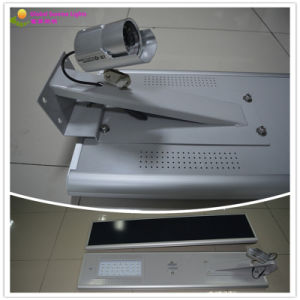 Solar Path Lamp/Integrated Solar Street Light/Solar Camera with Lighting pictures & photos