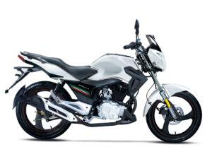 Robinson 200cc Street Motorcycle White