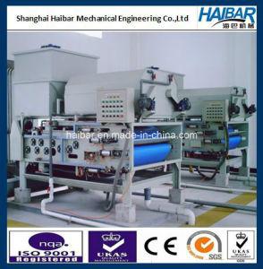 Mechanical Sludge Dewatering Process