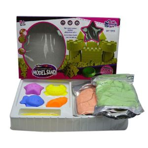 DIY Educational Toy 2000g Sand Baby Color Moon Magic Sand with 7 Accessories (10226403) pictures & photos