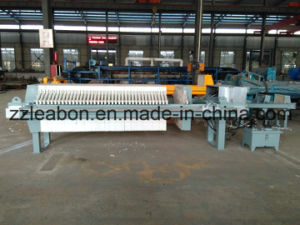 Sludge Dewatering Hydraulic Automatic Chamber Filter Press pictures & photos