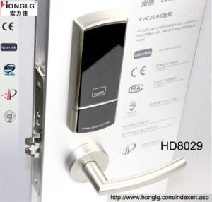 Split 304 Stainless Steel Hotel Card Electronic Lock pictures & photos