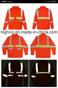 Reflective Workwear for Cleaning Workers (C2401) pictures & photos