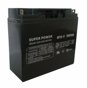 UPS Battery 12V 17ah with CE UL ISO9001 Certificated (SP12-17) pictures & photos