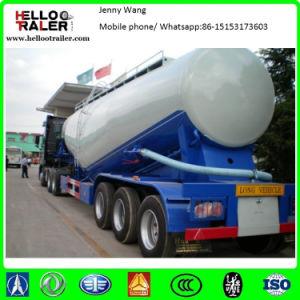 60cbm Bulk Cement Powder Dry Bulker Tank Semi Trailer pictures & photos