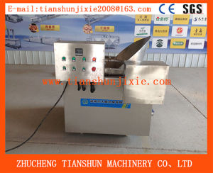 Semi-Automatic High Quality Automatic Chicken Deep Fryer Machine Tsbd-15 pictures & photos