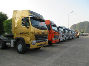 HOWO A7 4X2 Tractor Truck Primover pictures & photos