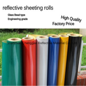 Traffic Warning Tape High Intensity Reflective Sheeting (C1300-O) pictures & photos