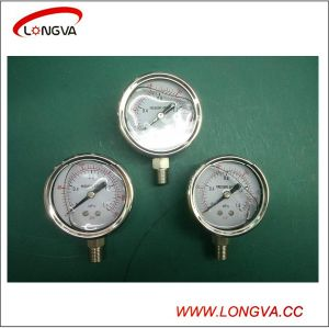 Threaded Stainless Steel Pressure Gauge pictures & photos